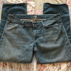 7 FAMK crop jeans